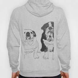 English Bulldog Brothers Hoody