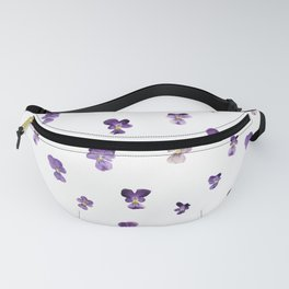Johnny Jump Up Pattern Fanny Pack