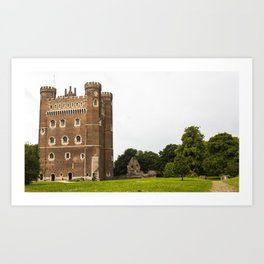 Tattershall Castle Grounds - Lincolnshire Art Print