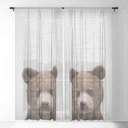 Baby Bear - Colorful Sheer Curtain