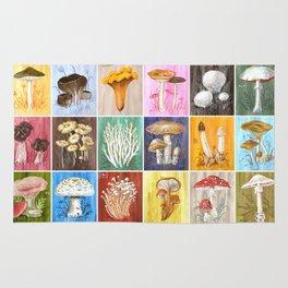 Mushroom Study Rug