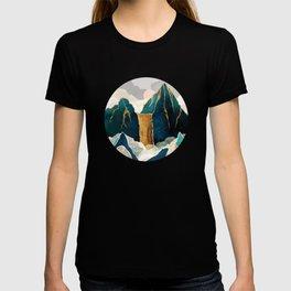 Golden Waterfall T-shirt