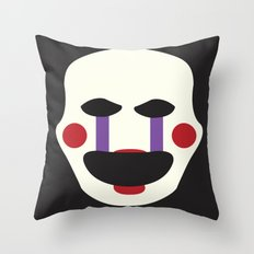 puppet, FNAF Throw Pillow