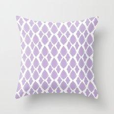 Lavender iKat Throw Pillow