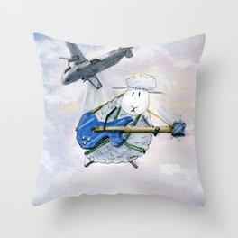 Glissando Throw Pillow