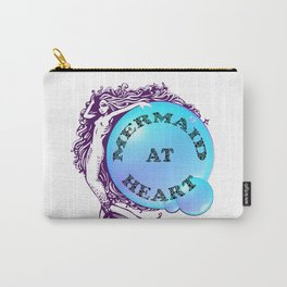 Mermaid at Heart Carry-All Pouch