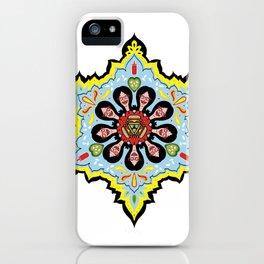 Alright linda belcher mandala kaleidoscope iPhone Case