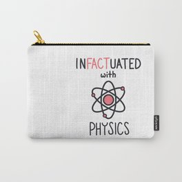 InFACTuated with Science Series - Physics 1 Carry-All Pouch