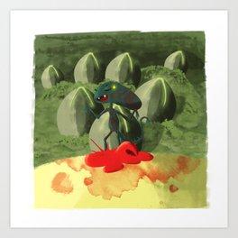 Alien Covenant - Baby Xeno Art Print