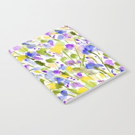 Wild Nature (Yellow and Blue) Notebook