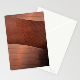 Architectural abstract of the home to the LA Philharmonic, Architect: Frank Gehry Stationery Cards