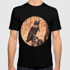 Raven (Slavanic paganism) Mens Fitted Tee Black MEDIUM