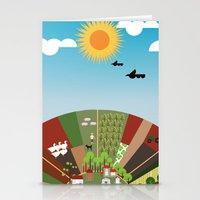 farm Stationery Cards featuring Farm by Design4u Studio