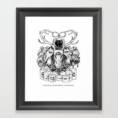 Puritanical Misanthropic Aestheticism Framed Art Print