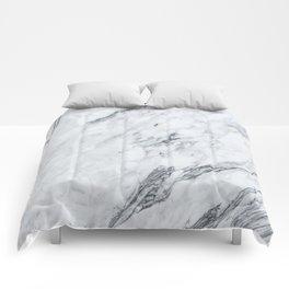 Gray Marble #2 Comforters