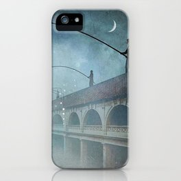 Fishing for dreams iPhone Case