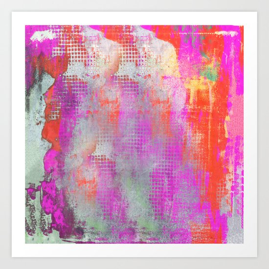 Colorful Abstract Artwork Original Painting Art Print