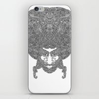 afro iPhone & iPod Skins featuring AFRO by varvar2076