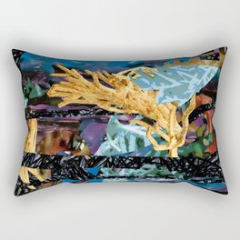 Surreal-Real Textures Rectangular Pillow