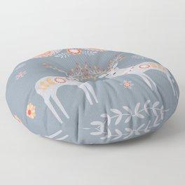 Nordic Winter Floor Pillow