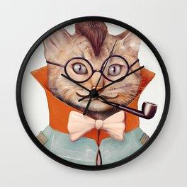 Eclectic Cat Wall Clock