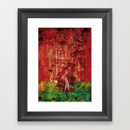 Where are we going? Framed Art Print
