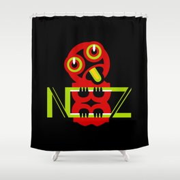 Hei Tiki New Zealand Shower Curtain