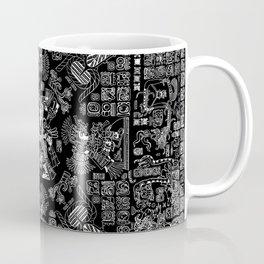 Mayan Spring B&W II Coffee Mug