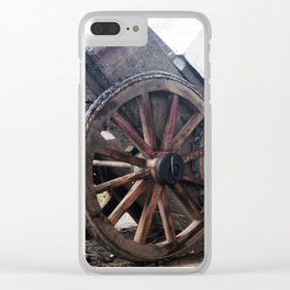 062 street life vs strict life Clear iPhone Case