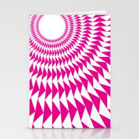 rave Stationery Cards featuring rave up by modernfred
