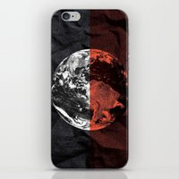 globe iPhone & iPod Skins featuring Globe by journohq