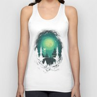 threadless Tank Tops featuring 3012 by Robson Borges