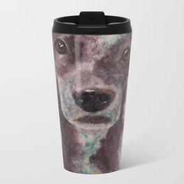 Parson, the cattle dog Metal Travel Mug