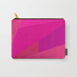 Pink Fractal Carry-All Pouch
