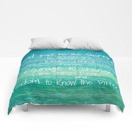 The Serenity Prayer Comforters