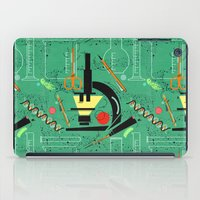 biology iPad Cases featuring BIOLOGY by cecimonster
