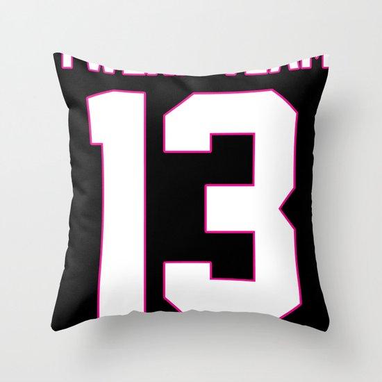 #TWERKTEAM13 Throw Pillow