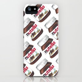 Nuts for Nutella iPhone Case