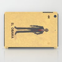"""obama iPad Cases featuring EL OBAMA by """"dfrnt"""""""