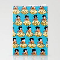 goku Stationery Cards featuring Son Goku by husavendaczek