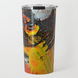 Motion in Abstraction Travel Mug