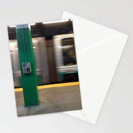 Train passing by Stationery Cards