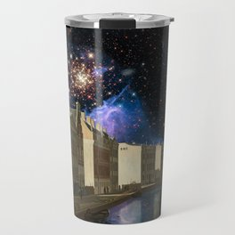 Space Time Continuum with Gerrit Adrieansz Travel Mug