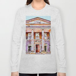 Mount Stewart,Ireland.(Painting) Long Sleeve T-shirt