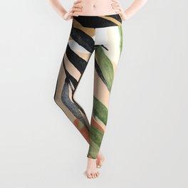 Abstract Tropical Art VI Leggings