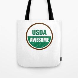 USDA AWESOME Tote Bag