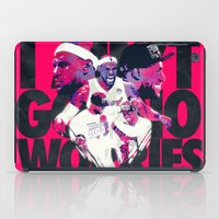 lebron iPad Cases featuring LEBRON 2 TIME CHAMPION by mergedvisible