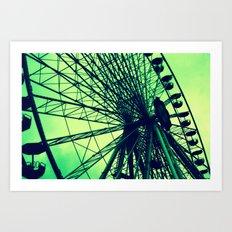 Big wheel [Vienna] Art Print