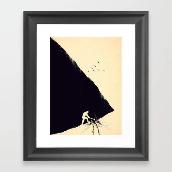 Freedom Seeker Framed Art Print