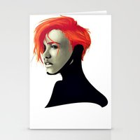 sci fi Stationery Cards featuring SCi by Noah Ocean
